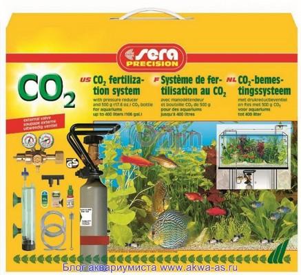 Углекислый газ (CO 2) в аквариуме