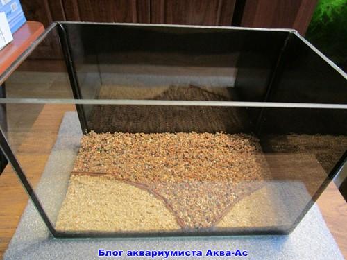 alt-грунт в нано аквариуме