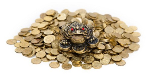 alt=денежная лягушка
