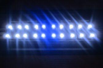 светодиодный светильник для морского аквариума