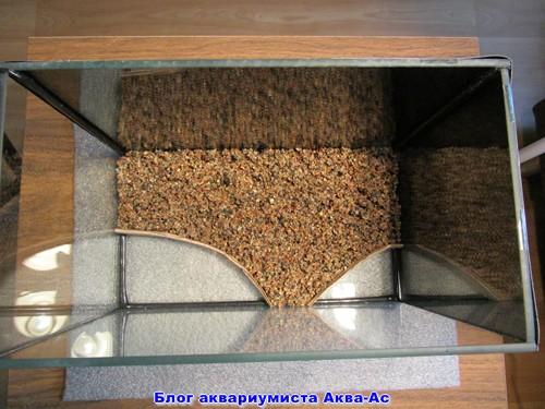 грунт в нано аквариуме аквариуме